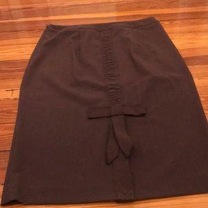 Victoria's Secret brown pencil skirt